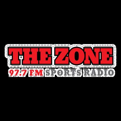 97.7 The Zone logo
