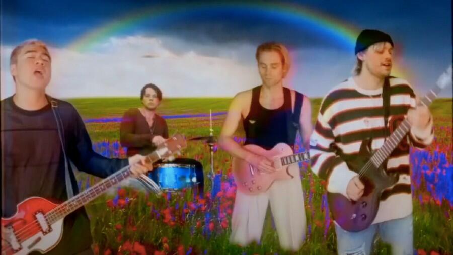 5 Seconds Of Summer Unveil Trippy 'Wildflower' Video