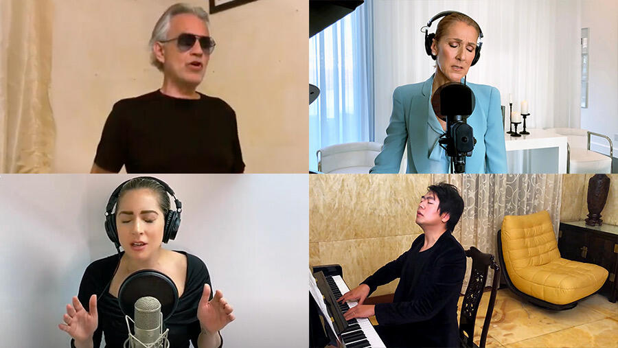 Celine Dion, Andrea Bocelli, Lady Gaga & More Team Up For 'The Prayer'