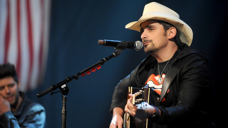 Brad Paisley Says Crashing Fans' Zoom Parties Was 'Very Emotional' For Him