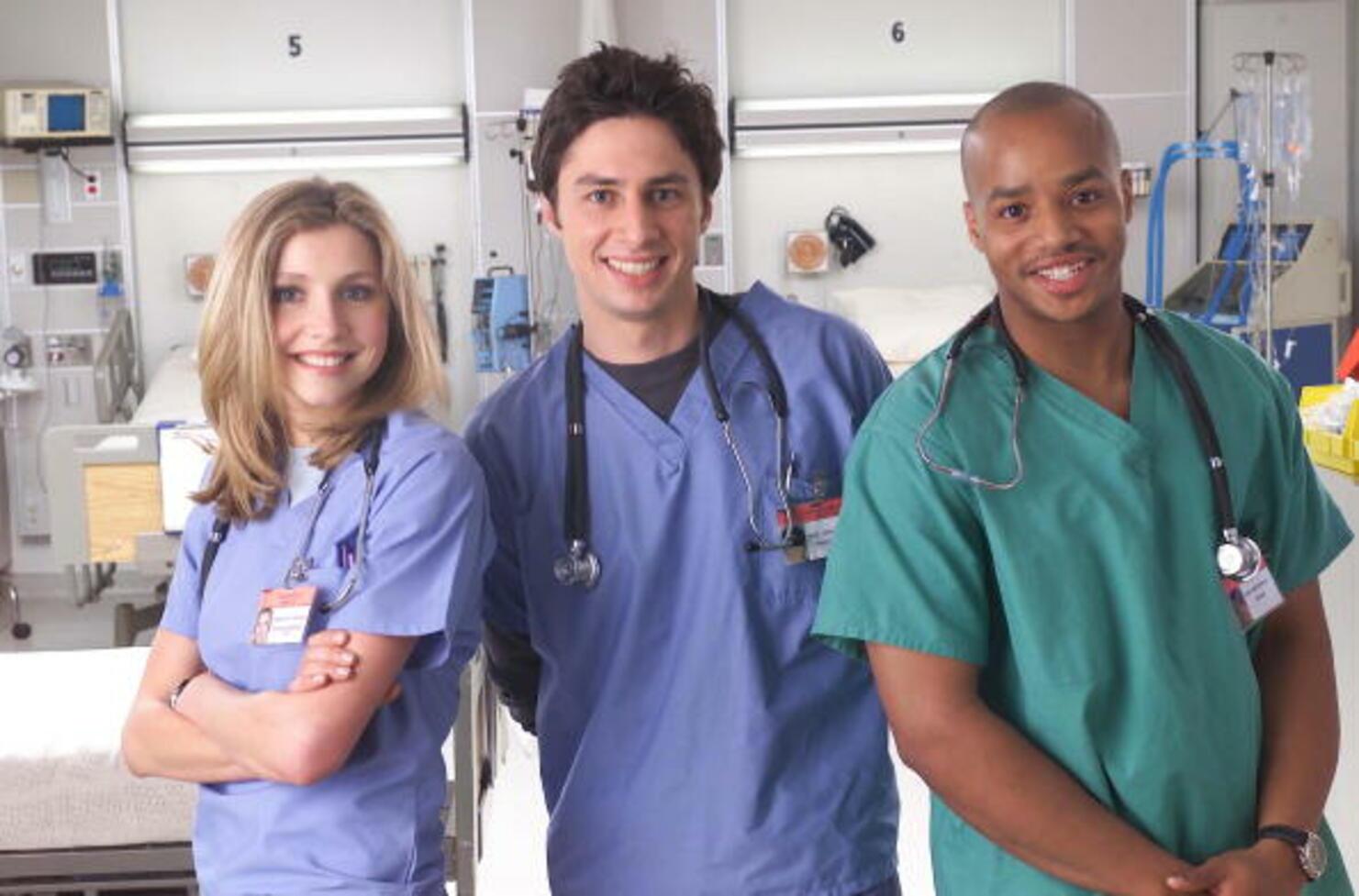 """Cast of NBC TV Show """"Scrubs"""""""