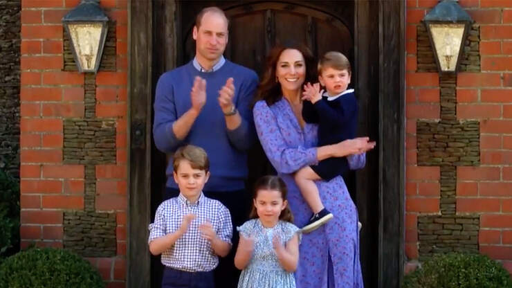 Kate Middleton Says Prince Louis Makes Prince George 'A Little Grumpy'