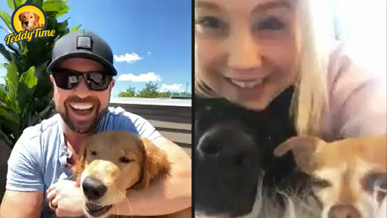 Teddy Time: Raelynn, Cash, and Dolly Join Cody Alan For Puppy Playdate