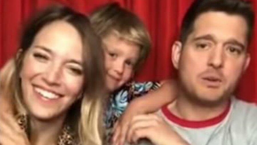 Michael Bublé's Son Makes First Video Appearance Since Beating Cancer