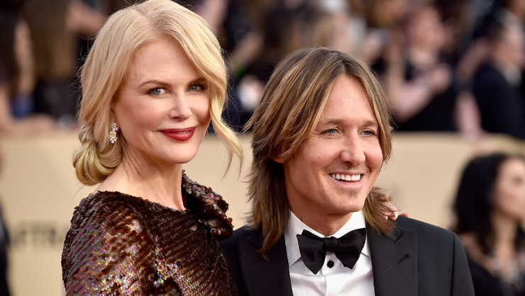 Keith Urban Says He 'Definitely Married Up' With Nicole Kidman