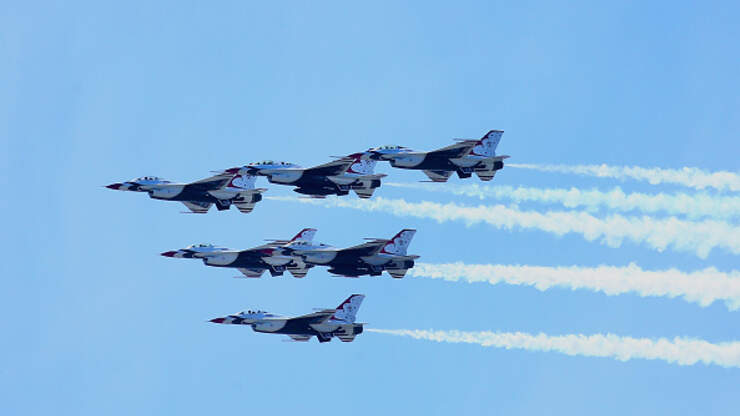 Final Flight Details For The Blue Angels And Thunderbirds ...