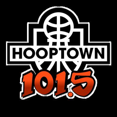 Hooptown 101.5 logo