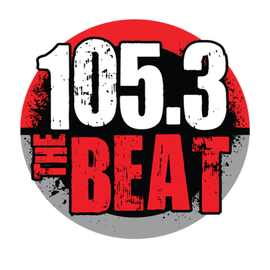 105.3 The Beat logo