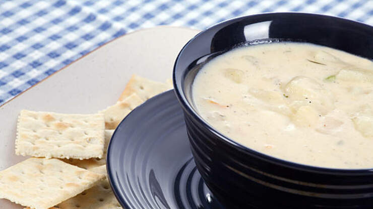 Disney Shares Epcot's Cheddar Cheese Soup Recipe!