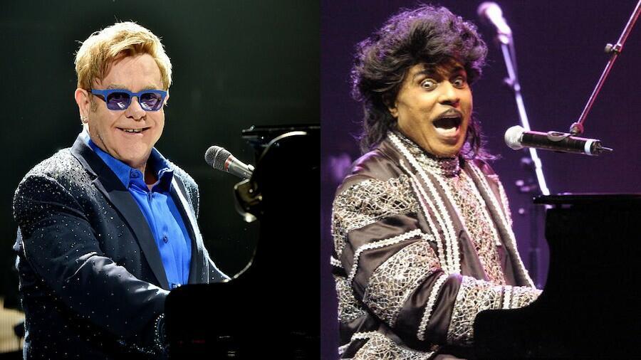Elton John Pays Tribute To His 'Biggest Influence' Little Richard