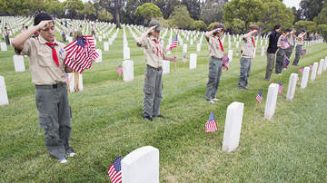 image for Boy Scouts Banned From Placing Flags On Veterans' Graves Due To Coronavirus