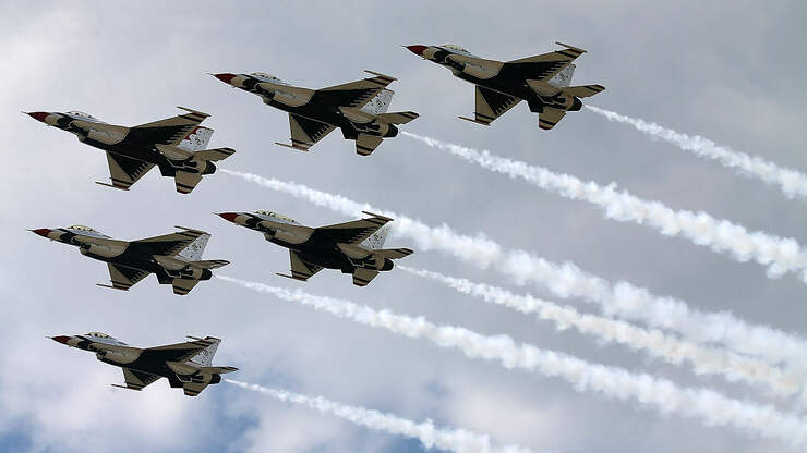 Thunderbirds to Salute COVID-19 Responders with SoCal Flyover | KFI AM 640
