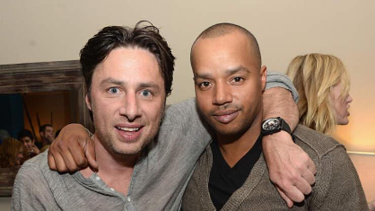 Zach Braff & Donald Faison Relive The Best Fantasies In 'Scrubs' History | KJ103