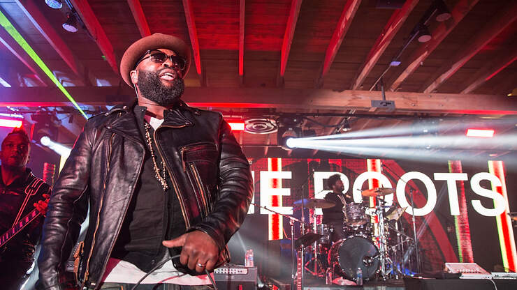 The Roots Prepare to Conquer Television | On Air with Ryan Seacrest