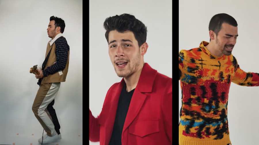 Watch The Jonas Brothers Get Flirty With Karol G In 'X' Music Video