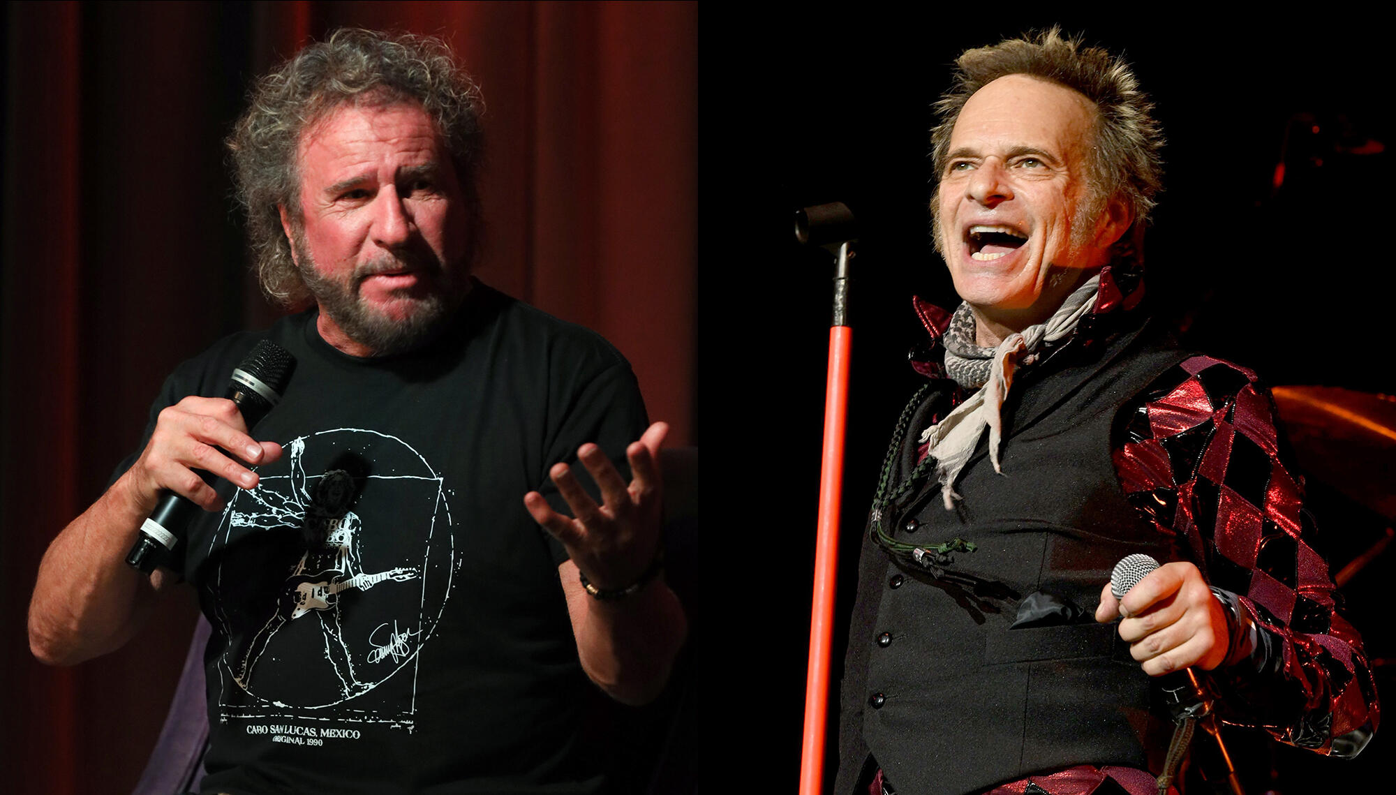 Sammy Hagar Thinks David Lee Roth Is Wrong About Van Halen Being Finished Iheartradio