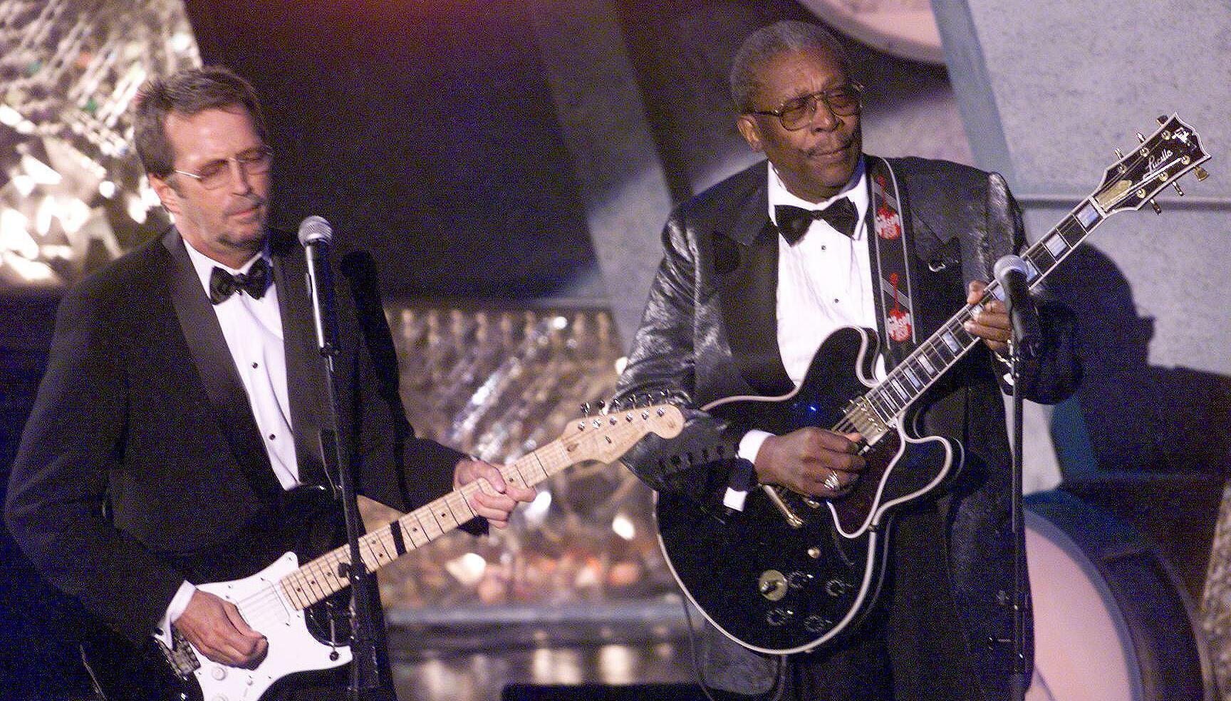 "Listen To Eric Clapton, BB King's Previously Unheard ""Rollin' And Tumblin'"""