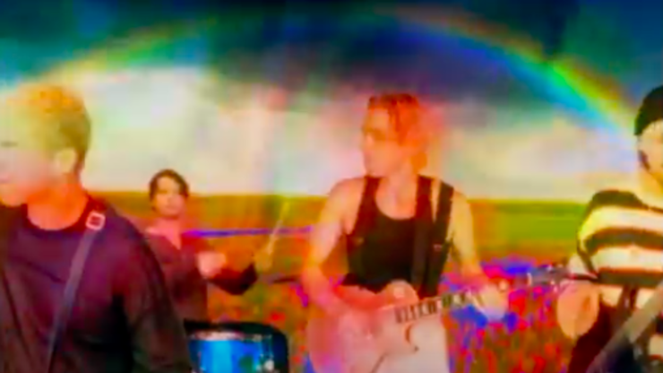How 5SOS Pulled Off Filming Psychedelic 'Wildflower' Video | On Air with Ryan Seacrest