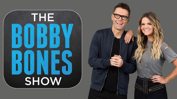 Bobby Bones, weekday mornings after 5 a.m.!