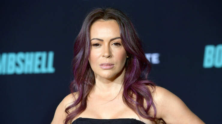 Alyssa Milano Slams Haters After She Posted A Mask Selfie | KISS 95-7 | Courtney & KISS in the Morning
