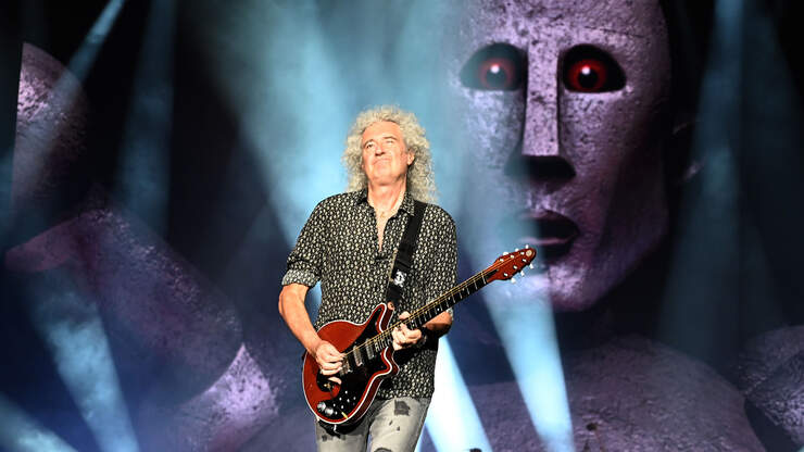 Queen's Brian May Thanks Fans For Support After Heart Attack   WEBN