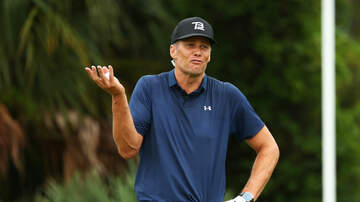 image for Tom Brady splits his pants and kinda stinks at golf!