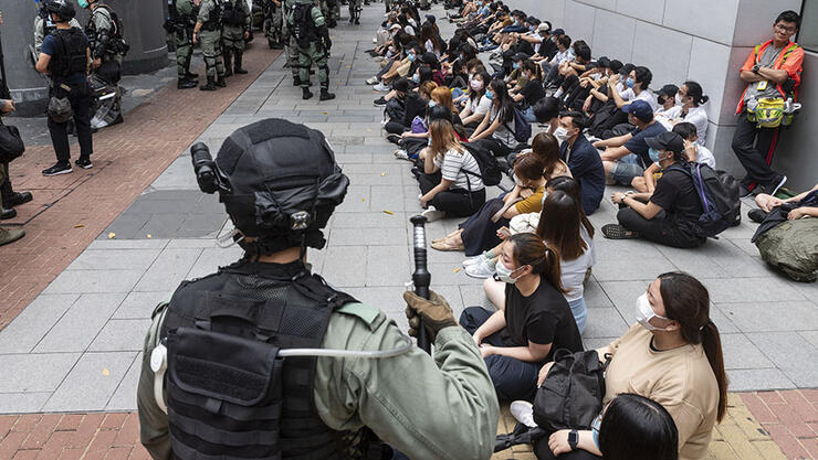 Measures against national anthem bill protests in Hong Kong