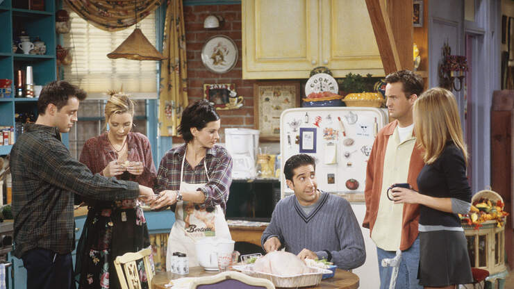 An Official 'Friends' Cookbook Is Being Published This Year