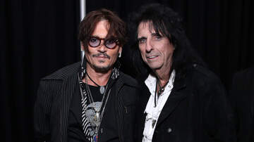 image for Alice Cooper Wants Johnny Depp To Play Him In A Biopic