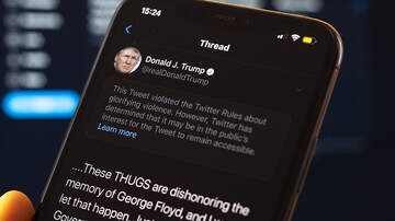 image for Twitter Puts Warning On President Trump's Tweet About Minneapolis Protests
