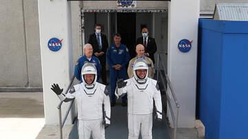 image for NASA To Go Ahead Today with Astronauts Florida Splashdown Despite Isaias