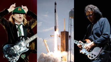 image for SpaceX Astronauts Blasted AC/DC, Black Sabbath On Mission To ISS
