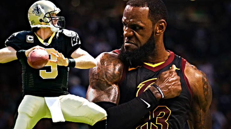 LeBron James Calls Drew Brees Out on Twitter After Controversial Comments