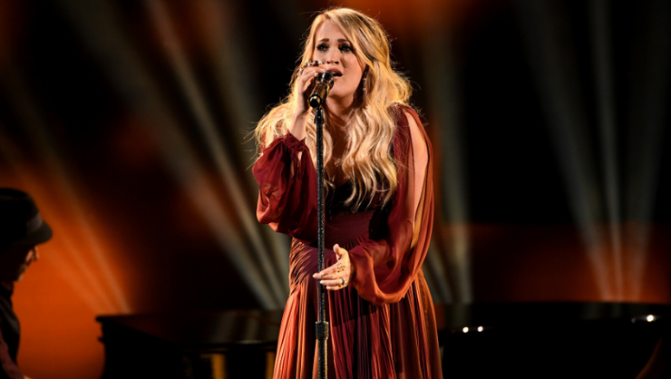 Carrie Underwood Admits She Was 'Mad' At God After Three Miscarriages