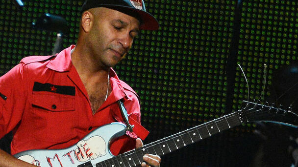 Here's How You Can Call And Directly Ask Tom Morello Questions About Guitar