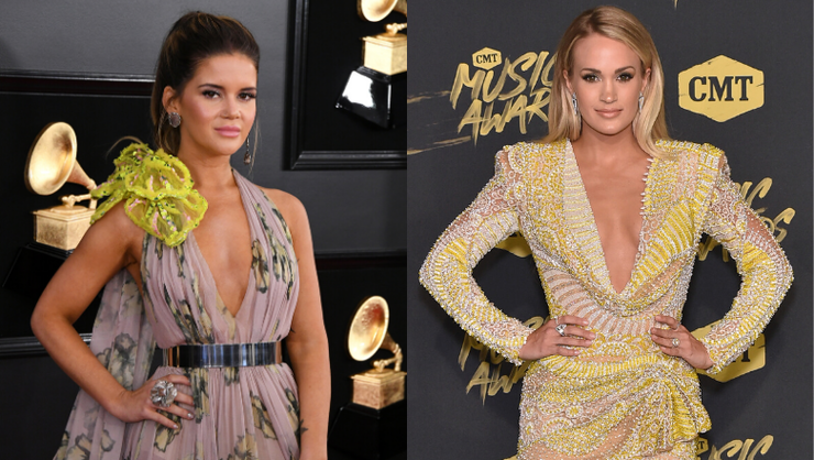 Maren Morris Shows Off 'Sweet Baby Gifts' From Carrie Underwood