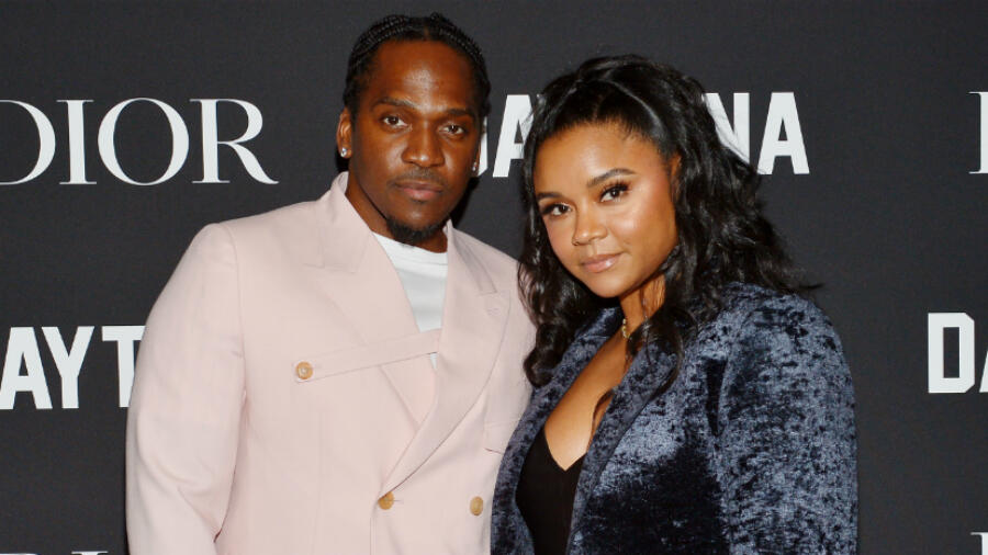 Pusha T & Wife Virginia Williams Welcome Their First Child