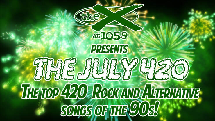 The X July 420 - Full List