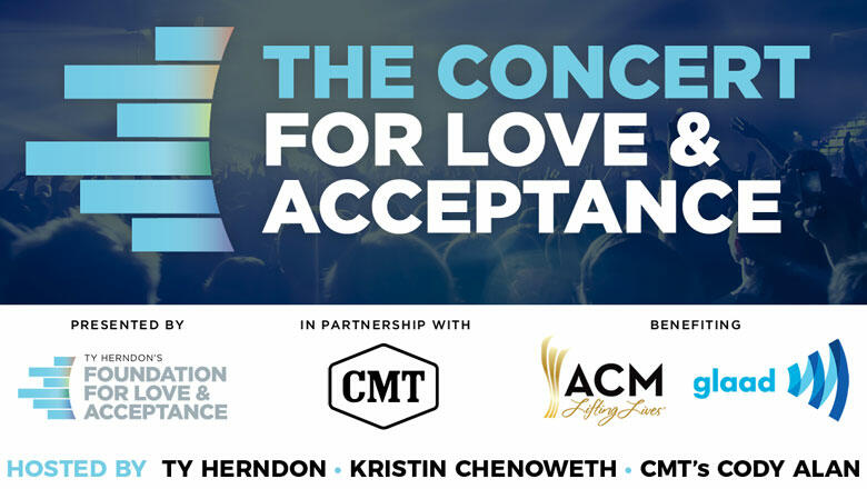 Cody Alan + Kristin Chenoweth To Host Concert For 'Love & Acceptance'