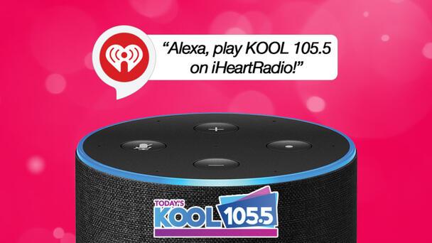 Listen To KOOL 105.5 On Your Smart Speaker!