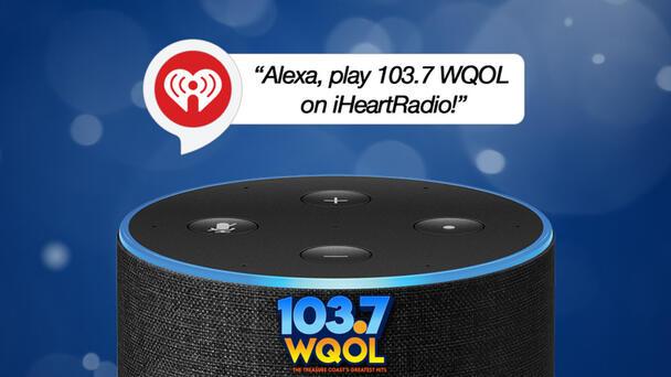 Listen To 103.7 WQOL On Your Smart Speaker!
