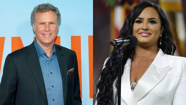 Will Ferrell Reveals 'Special Moment' with Demi Lovato on Set of New Movie