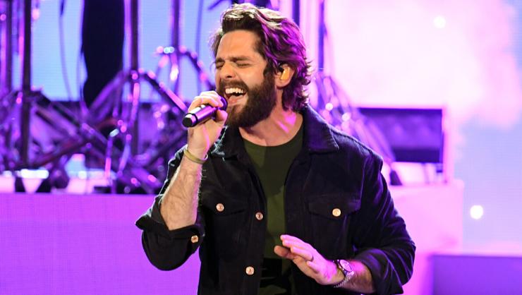 Thomas Rhett Shares Emotional New Song 'Things Dads Do'