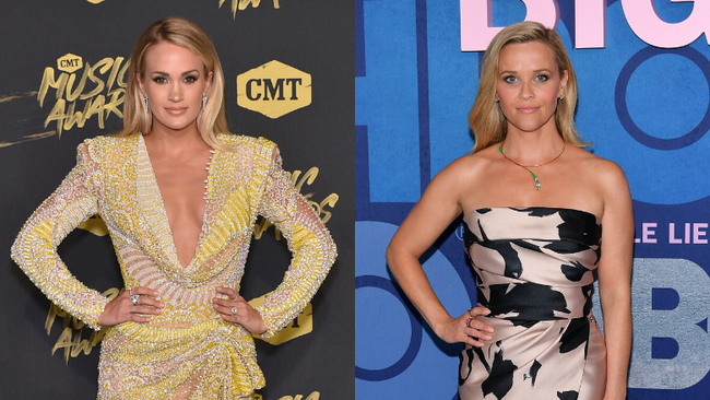 Carrie Underwood Reacts After Fan Mistakes Reese Witherspoon For Her