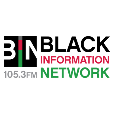 Norfolk's B.I.N. 105.3 logo