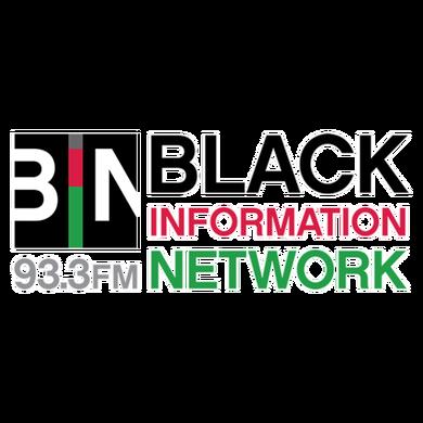 Twin Cities' BIN 93.3 logo