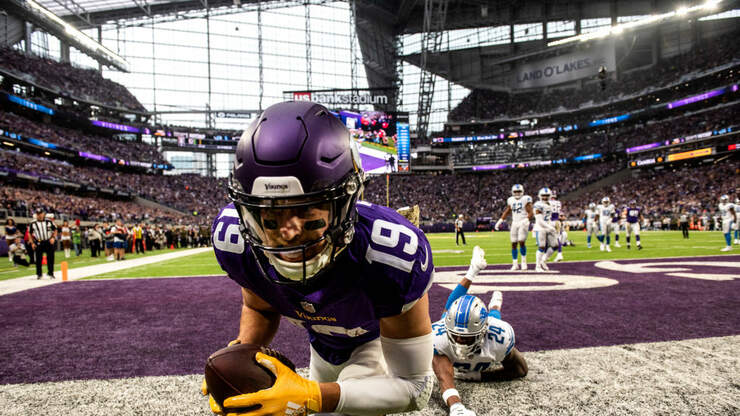 Even w/out Diggs, there's still plenty to be excited for with Vikings WRs