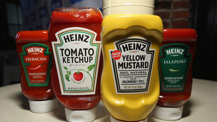 What If Condiments, But Frozen?