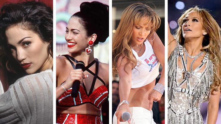The Evolution of Jennifer Lopez