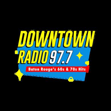 Downtown Radio 97.7 logo